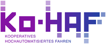 the picture shows the logo of the Ko-HAF project