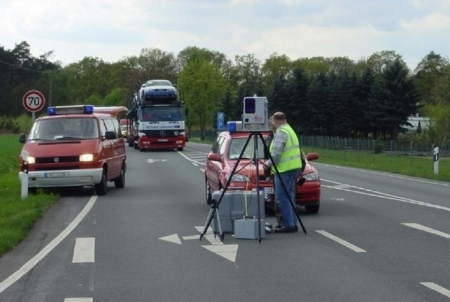 The photo shows the documentation of accidents by the Medical University of Hannover