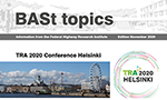 Titel of BASt topics November 2020 (refer to: BASt topics)
